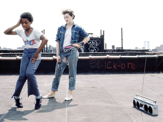 Beautiful Photographs of Madonna in New York City 1982 (18)